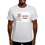 Surrender Monkey Ash Grey T-Shirt