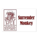 Surrender Monkey Postcards (Package of 8)