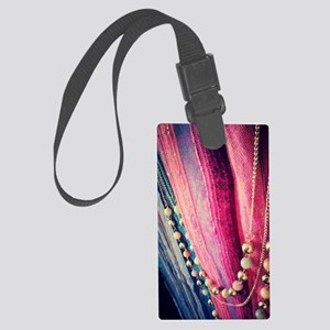 flawless neck-piece Large Luggage Tag