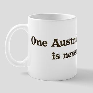 One Australian Kelpie Mug
