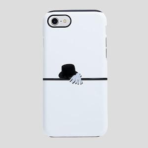 TopHatBlackCaneWhiteGloves0730 iPhone 7 Tough Case