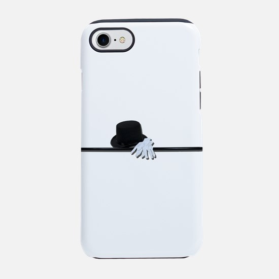 TopHatBlackCaneWhiteGloves0730 iPhone 7 Tough Case