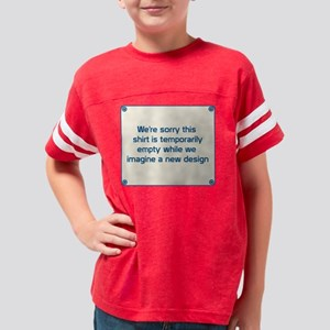 Imagine a New Design Youth Football Shirt