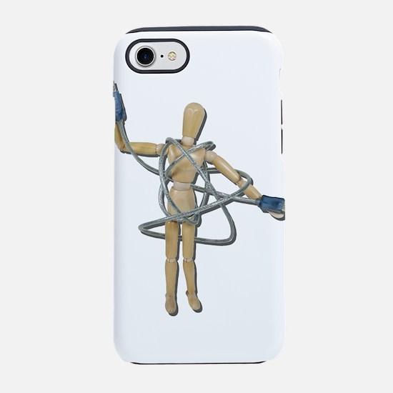 TangledInUSB082611.png iPhone 7 Tough Case