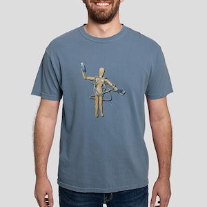 TangledInUSB082611 Mens Comfort Colors Shirt