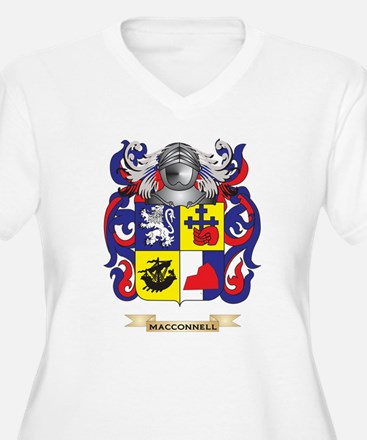 MacConnell Coat of Arms - Family Crest Plus Size T