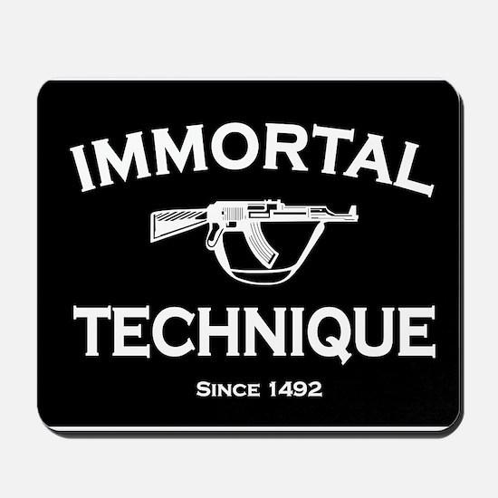 Immortal Technique Black Mousepad