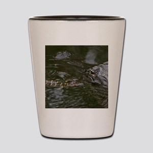 Baby Goes for a Swim Shot Glass