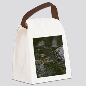 Baby Goes for a Swim Canvas Lunch Bag