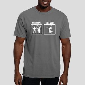 Problem Solved Badminton Mens Comfort Colors Shirt