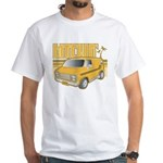 Retro White T-shirt - Bitchin' Van!