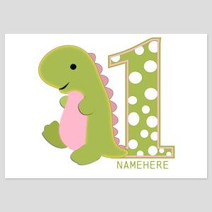 dinosaur 1st birthday invitations and announcements cafepress