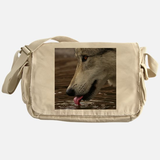 Thirsty, But Watchful Messenger Bag