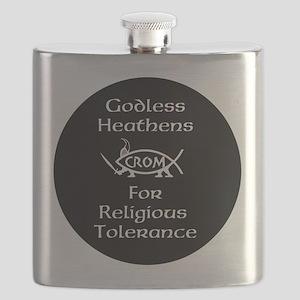 Godless Heathens Flask