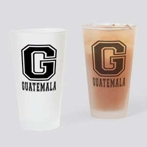 Guatemala Designs Drinking Glass