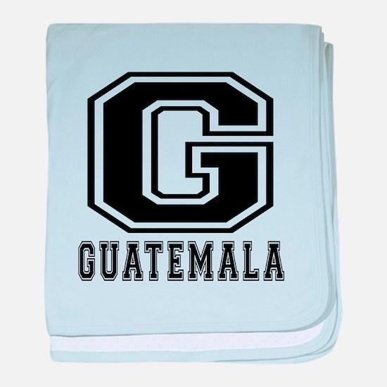Guatemala Designs baby blanket