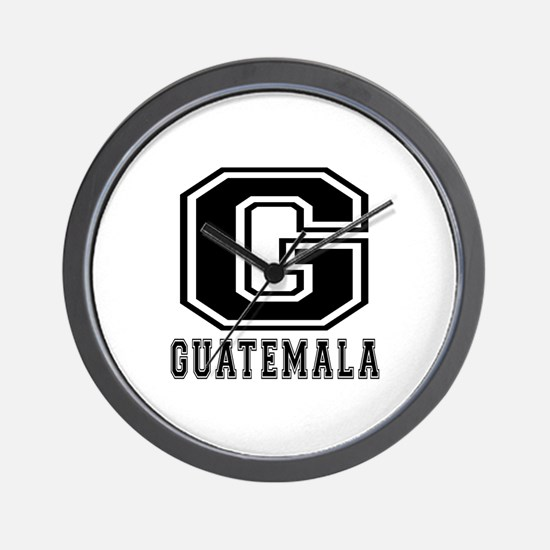 Guatemala Designs Wall Clock