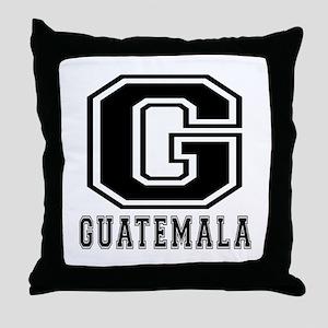 Guatemala Designs Throw Pillow