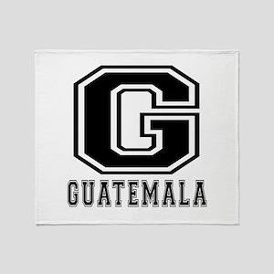 Guatemala Designs Throw Blanket