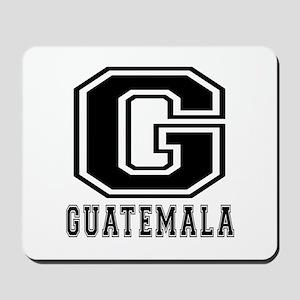 Guatemala Designs Mousepad
