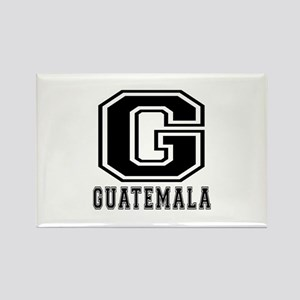Guatemala Designs Rectangle Magnet