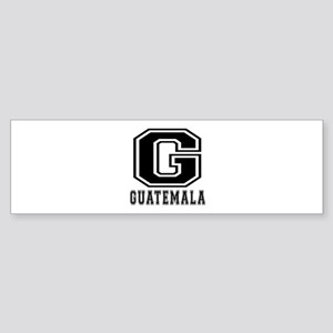 Guatemala Designs Sticker (Bumper)