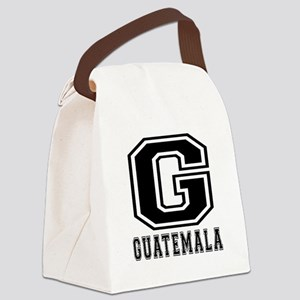 Guatemala Designs Canvas Lunch Bag