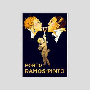 Porto Ramos- Pinto, Wine, Vintage Poster 5'x7'Area