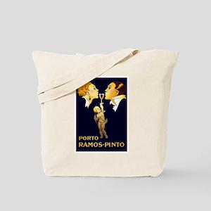 Porto Ramos- Pinto, Wine, Vintage Poster Tote Bag