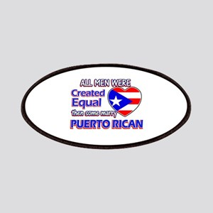 Puerto Rican Wife Designs Patches