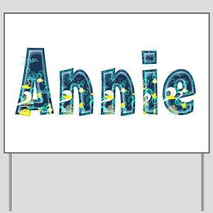 Annie Under Sea Yard Sign