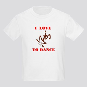 LOVE TO DANCE Kids T-Shirt