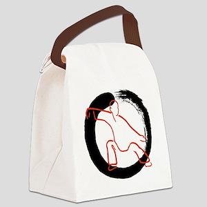 Tai Ji Dao Canvas Lunch Bag