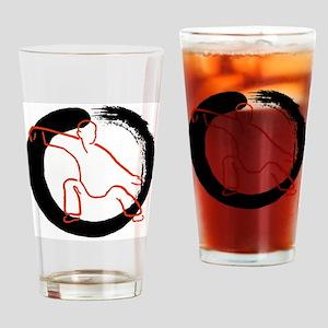 Tai Ji Dao Drinking Glass