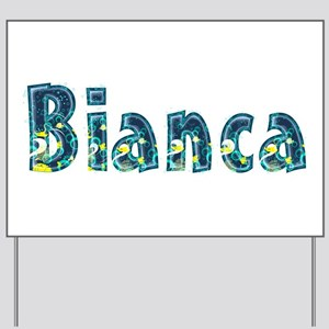 Bianca Under Sea Yard Sign