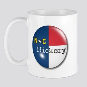Hickory North Carolina Flag Mug