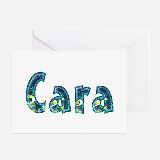 Cara Under Sea Greeting Card