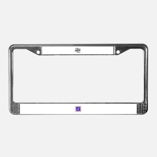 Dear god thanks for Curling Ke License Plate Frame