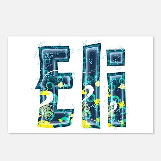 Eli Under Sea Postcards 8 Pack