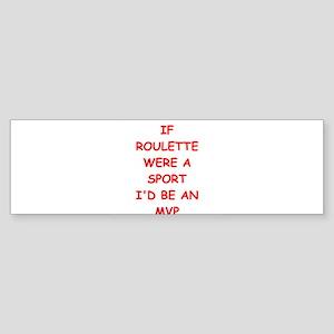 roulette Bumper Sticker