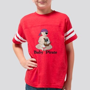 Baby Pirate Girl Lt Skin Youth Football Shirt