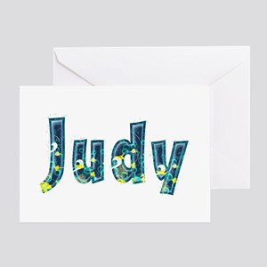 Judy Under Sea Greeting Card