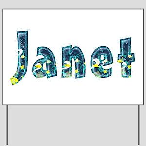 Janet Under Sea Yard Sign