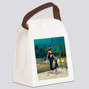 Mermaid Canvas Lunch Bag