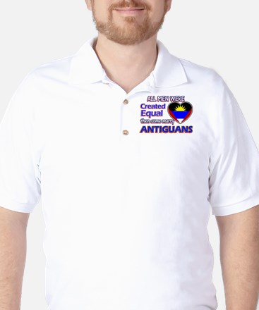 Antiguan Wife Designs Golf Shirt