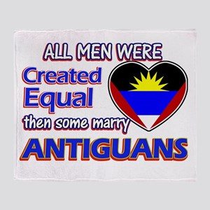 Antiguan Wife Designs Throw Blanket