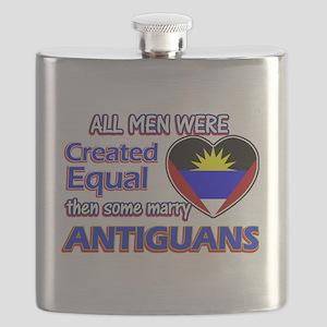 Antiguan Wife Designs Flask