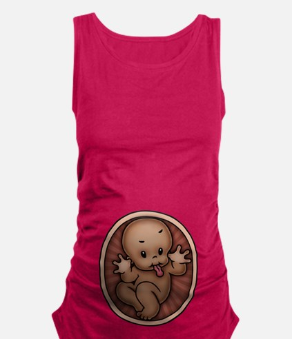 razz-baby-AFR-T.png Maternity Tank Top