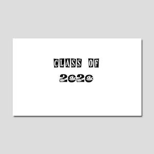 CLASS OF 2020 MARIJUANA Car Magnet 20 x 12