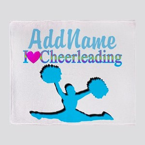 CHEER TO WIN Throw Blanket